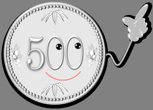 500yenface