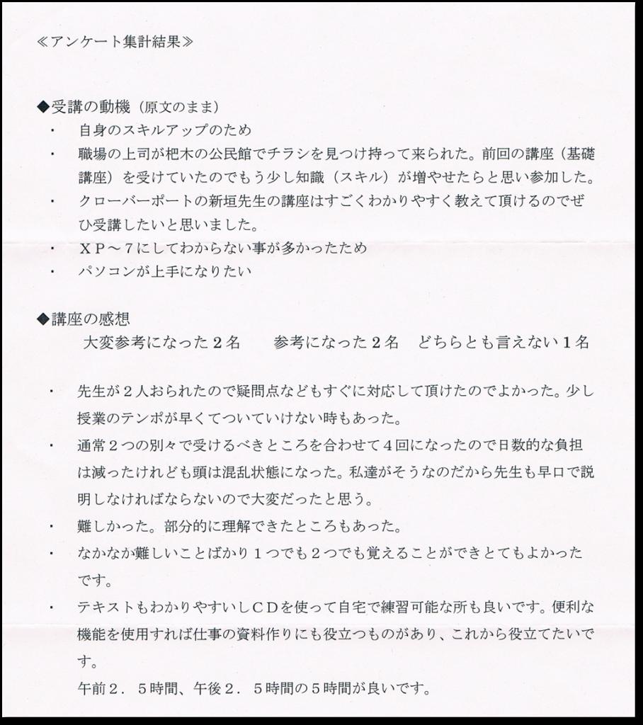 2015実務応用アンケート